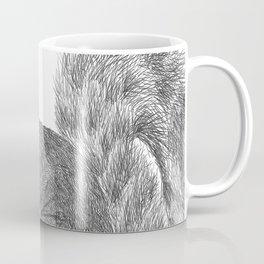 Gray Squirrel Coffee Mug