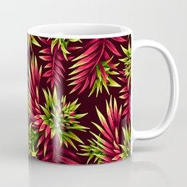 Aechmea Fasciata - Green/Pink Coffee Mug