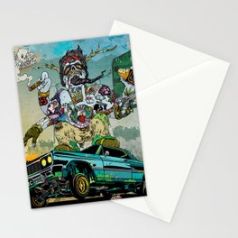 B-Side Low Ride Stationery Cards