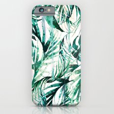 Green Tropical paradise  Slim Case iPhone 6