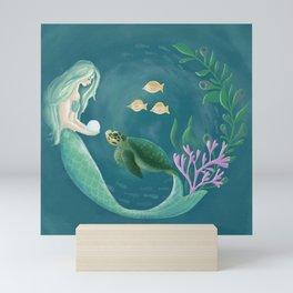 Mermaid's Gift Mini Art Print