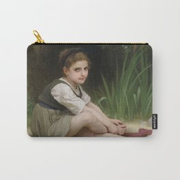 "William-Adolphe Bouguereau ""Au bord du ruisseau"" Carry-All Pouch"