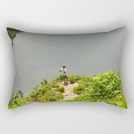 Lake Açores Rectangular Pillow