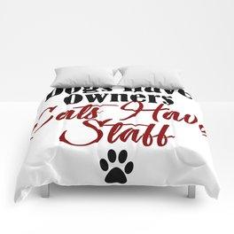 Funny Cat Evil Kitty Meow Whisperer Kitten Dog Pet Comforters