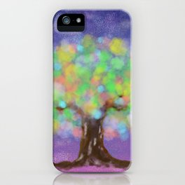 Colorful Light Evening iPhone Case