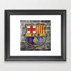 Barcelona FC Framed Art Print