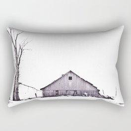 The Barn Rectangular Pillow