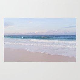 Lavender Beach + Shore Rug