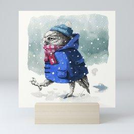 Snowy Day Mini Art Print