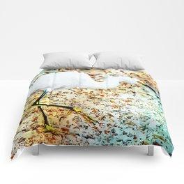 Gulf Coast Snowy Egret Comforters