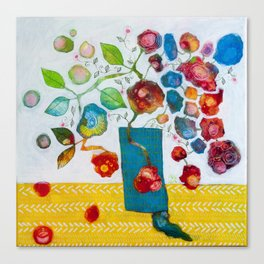 Flowers I Canvas Print