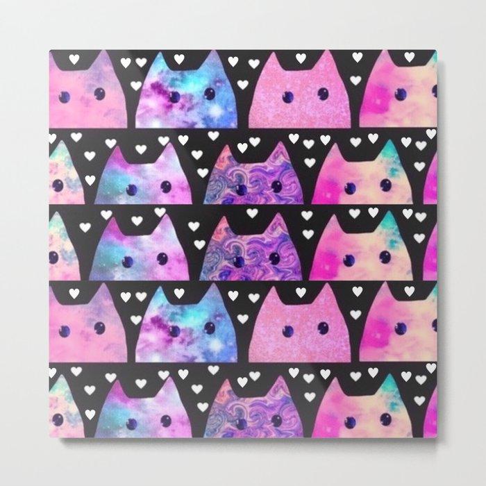 cats-435 Metal Print