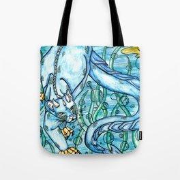 Underwater Panther Tote Bag