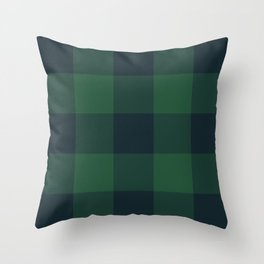rainforest pattern Throw Pillow