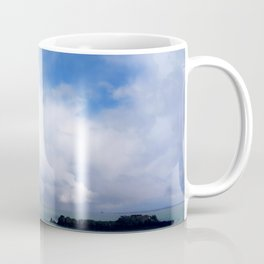 Coastal Clouds Seascape Cancale Bretagne France Coffee Mug