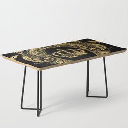 Gold Crown Coffee Table