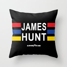 The Hunt lid Throw Pillow