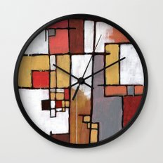 Thoughts of Amsterdam Wall Clock