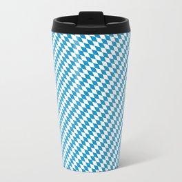 Bavarian Diamond Pattern Travel Mug