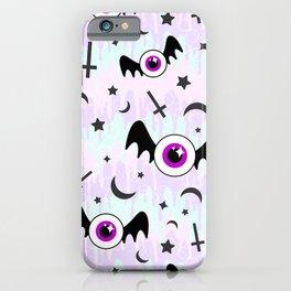 Pastel Melt Winged Eyes iPhone Case