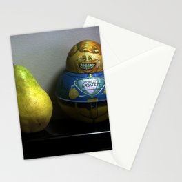 World's Greatest Pear Shape Stationery Cards