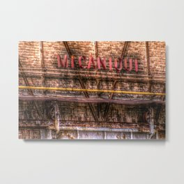 MECANIQUE 1 Metal Print