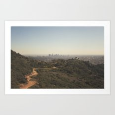 Griffith Park Skyline | Los Angeles Art Print