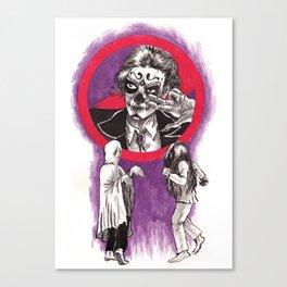 Ghost Dancing Canvas Print