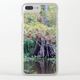 Louisiana Bayou Clear iPhone Case