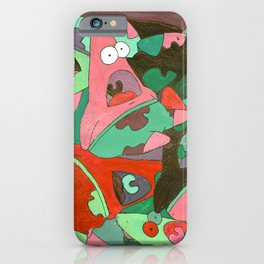 Colorful Patrick iPhone Case