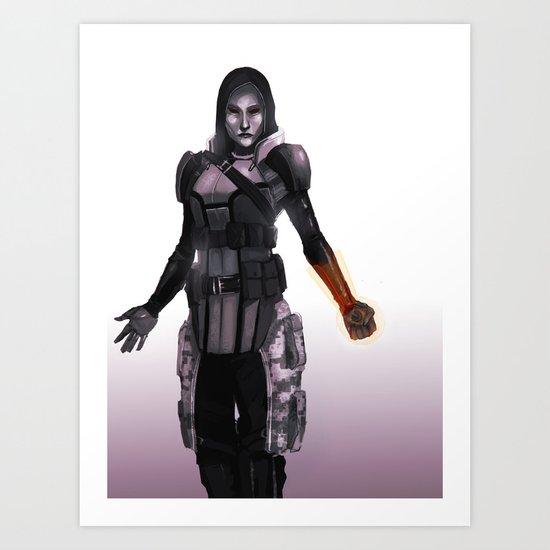 Alternate Concept EDI Art Print