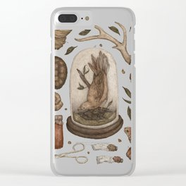 Preserved Memories Clear iPhone Case