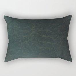 Faded Blue. Rectangular Pillow