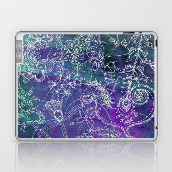 Insidious Flowers Laptop & iPad Skin