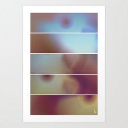 Overexposure (Five Panels Series) Art Print