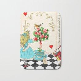 Alice's Book Alice in Wonderland Bath Mat