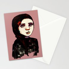 Charcoal IX Stationery Cards