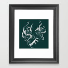 The Dark Sea Framed Art Print