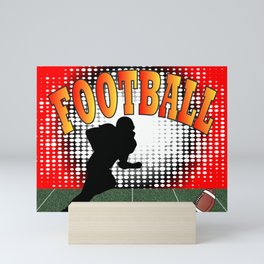 Football Tackle Mini Art Print