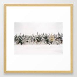 Driving through Black Forest Framed Art Print