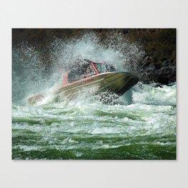 Jet Boat Canvas Print