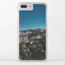 Glacier Point, Yosemite National Park IV Clear iPhone Case