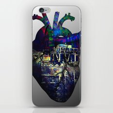 Denver in a Glitched Heart iPhone & iPod Skin