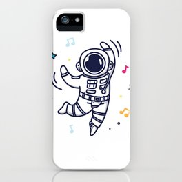 Cheerful Dance iPhone Case