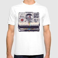COLOR BLINDNESS Mens Fitted Tee White SMALL