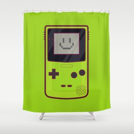Gameboy Color - Green Shower Curtain