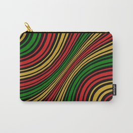 Rasta Color Work Carry-All Pouch