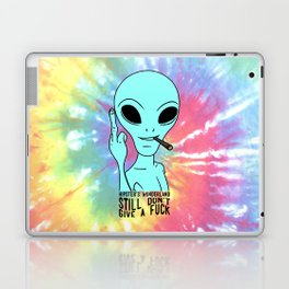 Still Alien Laptop & iPad Skin