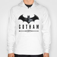 gotham Hoodies featuring Gotham City   by J Styles Designs