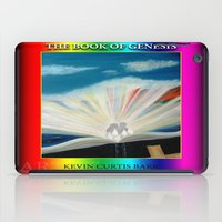 bible verses iPad Cases featuring THE BIBLE by KEVIN CURTIS BARR'S ART OF FAMOUS FACES
